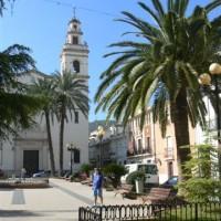 plaza iglesia Corbera